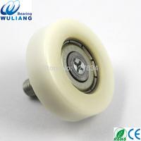 China High Quality 626zz drawer wheel OD30 nylon wheel drawer slide