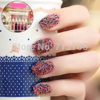 Set a nail glitter, free shipping