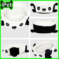 Upscale Panda model Pet Bed Pillow Soft Small Medium Dog Cat Soft Washable New White