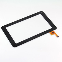 """7""""inch Black Capacitive Touch Screen with Digitizer For Prestigio Multipad Ultra+ PMP3670B ,TOPSUN-C0116-A1, free shipping !!"""