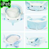 Sky Blue Elephant Pet Products Supplies Pet Dog Cat Bed Sofa House Cushion Mat Warm Soft