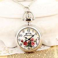 Ladies Pendant Watches Small Clock Women Pocket Watches With Long Chain Mini Gifts Wholesale Dropship