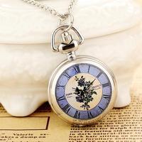 Reloj De Bolsillo High Quality Steampunk Necklace Pendant Analog Quartz For Women Free Shipping Wholesale