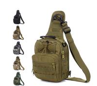 1pcs Unisex Travel Fishing Camping Outdoor Sport Nylon Wading Chest Pack Multifunction single-shoulder bag/ Backpack ej840100