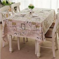 50*150cm ZAKKA cotton fabric loverly printing  hemp linen DIY table cloth decorative cloth,cushion fabric pillow fabric