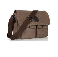 New fashion man casual  canvas bag shoulder and messenger bag men business bag