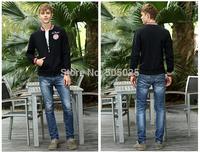 Free drop shipping Men's fashion casual cotton stand-collar Varsity jackets baseball coat cardigan Sweatshirts