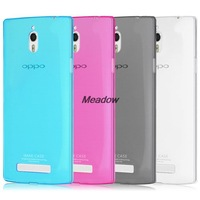 Original Imak Ultra Thin Soft 0.6mm TPU Transparent Cover Case For OPPO Find 7 X9007 Retailed Package freeshipping