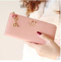 2014 women diamond long brand wallet Pendant  handbag women bag women Casual purses  wallets carteira feminina free shipping