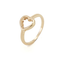 2014 New Gold Elegant Luxury Charm LOVER'S Heart Finger Wedding Rings,Wholesale Jewelry Women Rings Free Shipping,christmas gift