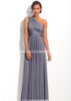 2014 Custom dress Strapless Ruching Floor Length Cocktail Dresses Bridesmaid Dresses LF188900