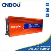 6000w 48v dc 220v ac Pure Sine Wave inteligent home power inverter