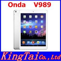 9.7 Inch 2048x1536 Onda v989 Tablet PC Allwinner A80 Octa Core Android 4.4 2GB+32GB WIFI Bluetooth 2.0+8.0MPHDMI 8000mAh