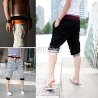 Men's Fashion Casual Sport Rope Short Pants Jogging Trousers