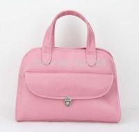H034,Custom Pink Lady  Leather Handbags, Latest fashion clutch bag/pu women handbags,PU + Accessories,Free shipping