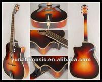 Hot sale fully handmade solid wood gypsy guitar