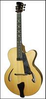 16 inch fingerboard inlay fully handmade solid wood jazz guitar