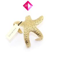2014 Cool summer fashion metal starfish bracelet,gold bracelets for women