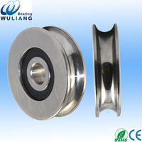 Newest Non-standard S626 2RS S626zz Stainless steel bearings U groove bearing 6x27x7.4mm