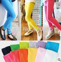 LZBB1407292 Candy color Girls  Leggings,girl's solid color bottoming pants,Elastic & soft 12 colors for choose