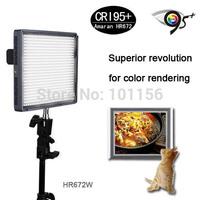 Aputure Amaran HR672W High CRI95+ 672 Led Video Light Panel 5500K For Camera & 2.4G Wireless Remote+ 2xNP-F970 Batteries as Gift