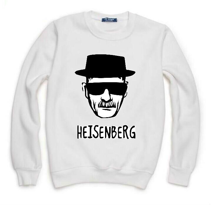 Breaking Bad Heisenberg Walter Cook Sweatshirt For Men Women Flocking Lady Fleece Hoody Pullover Thick Warm Winter