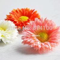 free shipping seaside beach resort bride simulation small daisy gerbera small edge clip brooch hairpin sunflowers