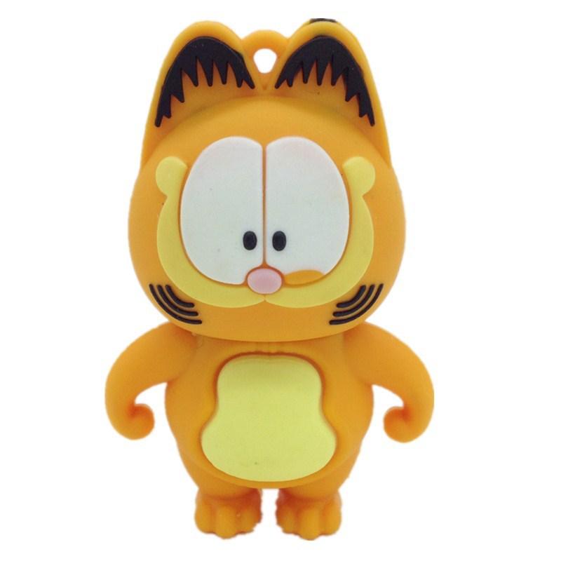 cartoon usb Garfield gadgets pen drive 4gb 8gb 16gb 32gb 64gb usb flash drive Coffee Cat flash usb drive pendrives usb memory(China (Mainland))