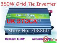 350W Grid Tie Inverter for Solar Panel 14V-28V DC(350 watt, 220V, High Efficiency, Free Shipping)UK STOCK