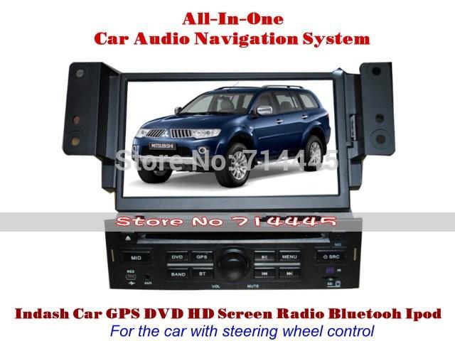Mitsubishi Pajero Sport 2011~2013 - Car Radio TV DVD GPS NAVI Audio & Video System(China (Mainland))