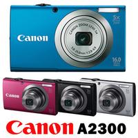 Original and new Canon PowerShot A2300 Digital Camera 5x Optical Zoom, 4x Digital Zoom,16MP Sensor Resolution Digital Camare