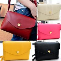 BA080 Fashion Womens Cute Girls Cross-body Shoulder Bag Small PU Leather Messager Bag