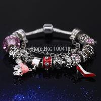 2015 wholesale free shipping European style glass beads beacelets fiit 2015 best selling murano glass beads bracelets