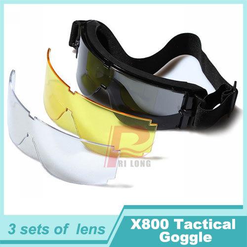 купить Мужские солнцезащитные очки Rilong USMC Airsoft X 800 3 ht12/0001 HT12-0001 по цене 1599 рублей