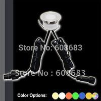 Free Shipping! (20 pieces/ lot) 30mm LED Deck Light IP67 LED Plinth Light: Including 20pcs 0.3W lights only(SC-B105B)