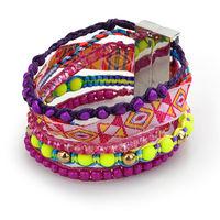 2014 New Fashion brazilian style women Bracelet Leather 100% hand-made Aliexpress hot charm Bracelets for female W5B04