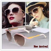 METALEYES1F sunglasses brand sunglasses women brand designer sun glasses for women fashion vintage oculos original sunglasses