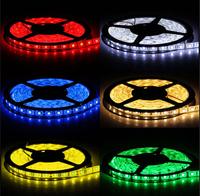 5m/Lot 16.4ft 12v SMD RGB 5050 IP65 Waterproof 300 LED Flexible Tape Strip Light Red/Yellow/Blue/Green/White/Warm White/RGB