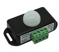 LED dimmer;Human body induction switch controller,DC12~24V input,0utput:1 channel; Induction distance:5-8m; Static power: : <1W