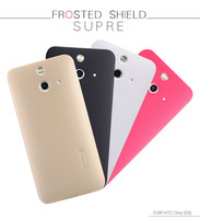 Genuine Nillkin Super Frosted Shield Matte Hard Case For HTC ONE E8 Free Protective Film