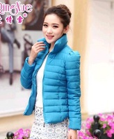 2014 Free shipping ! Women cotton-padded clothes coat Down jacket The good quality down jacket