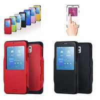 10pcs/lot SGP Spigen Slim Armor View Note 3 S VIEW Cases For Samsung Galaxy Note 3 Smart Window Cover Back Skin