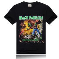 2014 Black Men Digital 3D Printed Shorts Sleeve Cotton T Shirts Orc Printing Tee T-shirt Hip Hop Blouses Tops Large Size ST02B20