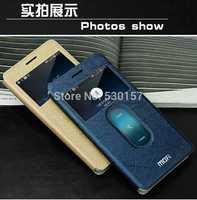Mofi Brand Fresh Color window View design pu leather Case For ZTE Nubia Z7 Mini, with retail box, 1pc freeshipping