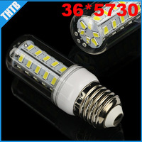 free shipping High lights E27 LED Light 220V E27 led bulbs & lamps Corn Bulb E27 5730 36LED Lamps 5730 SMD 15W Canble Lighting