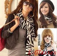 2014 New Hot Sale Scarf Autumn Winter zebra Cashmere Pashmina Twill Women Scarves