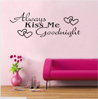 Modren Romantic Word Quote word bedroom love Decal wall sticker Removable Home/Room Wall Lettering  Art free shipping