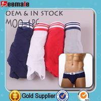 Factory Selling!!! Briefs Men Shorts Men Gay Underwear Sexy Penis Pouch Cuecas SS812A
