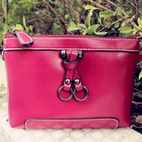 Women's day clutch 2014 female fashion clutch female genuine leather women's handbag shoulder bag messenger bag chain of packet