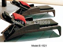 Luxury sun loungers beach folding chairs(China (Mainland))